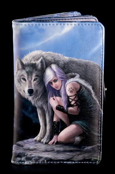 Geldbörse mit Wolf - Protector