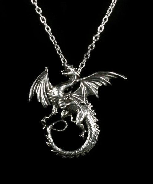 The Whitby Wyrm - Alchemy Gothic Halskette