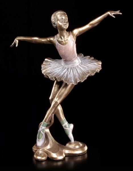 Ballerina Figur - Tanz in einem Bogen