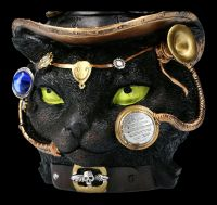 Cat Figurine - Steampunk Felius Mogg