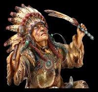 Indian Figurine - Chief Evokes