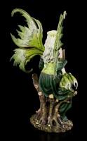 Fairy Figurine - Princess Gaia with Dragon