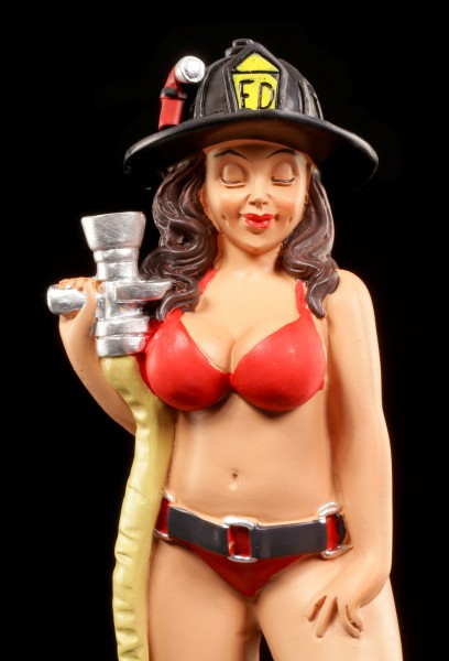 Funny Job Figurine - Sexy Fire Fighter