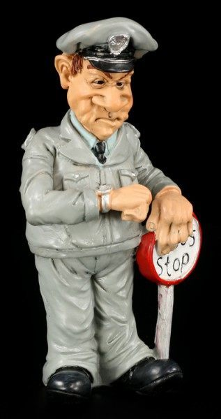 Bus Driver - Funny Job Figurine