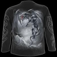 Langarmshirt Drache - Dragon's Cry
