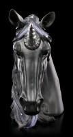 Einhorn Büste - Midnight - groß