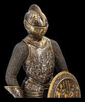 Knight Figurine - With Buckler and Sword