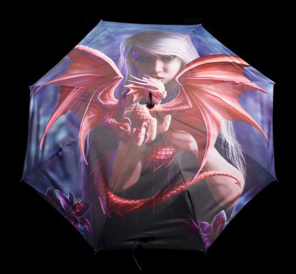 Regenschirm mit Drache - Dragon Kin by Anne Stokes