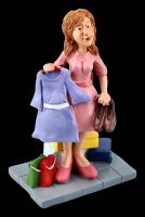 Funny Jobs Figurine - Shopping Queen