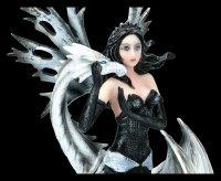 Fairy Figurine - Bettina with white Dragon