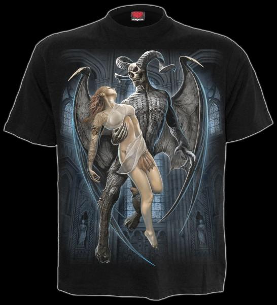 Devil Beauty - Spiral Gothic T-Shirt