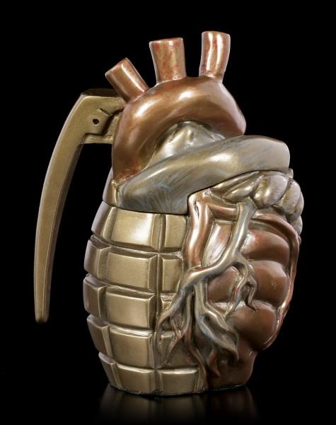 Steampunk Heart Grenade Box