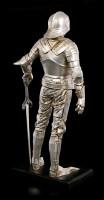 Ritter Figur - Schwert links auf Podest