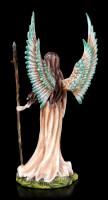 Engel Figur - Schutzengel Pilia mit Zauberstab