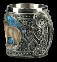 Fantasy Tankard - Howling Lone Wolf