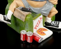 Funny Life Figurine - Beer and Pizza