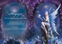 Fantasy Greeting Card - Stargazer