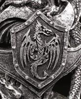 Dragon Figurine - Arokh with Dragon Crest
