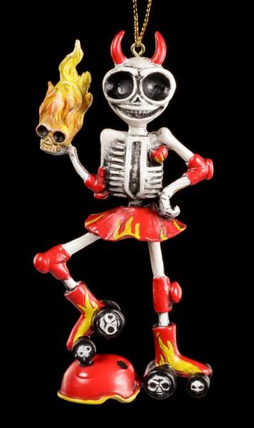 Skelett Figur - La Muerte Llameante