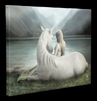 Small Canvas with Unicorn - Beyond Words