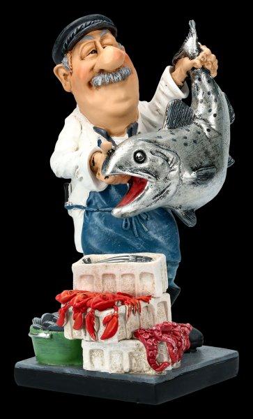 Funny Job Figurine - Fish Seller
