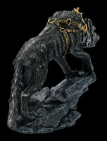 Germanic Fenris Wolf Figurine in Chains