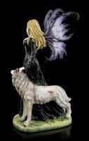 Large Fairy Figurine - Wolf Loveta