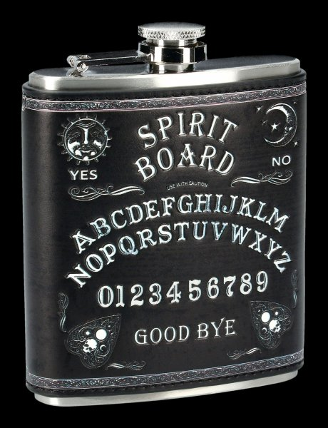 Hip Flask - Spirit Board