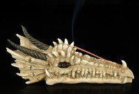 Draco Skull Incense Holder