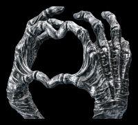 Gothic Schmuckhalter - Mumifizierte Hände