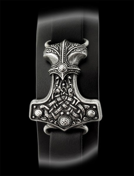 Thunderhammer - Alchemy Viking Leather Strap