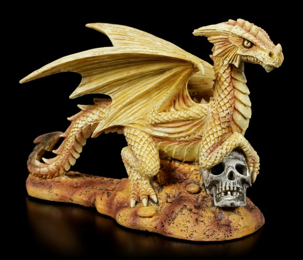 Baby Desert Dragon Figurine