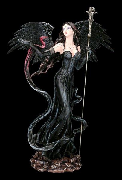 Dark Angel Figurine - Mysteria with magic Scepter