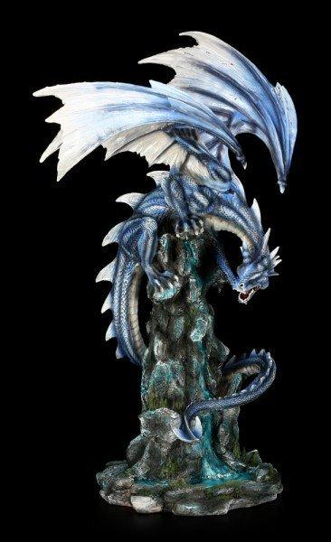 Große Drachen Figur - Observia am Wasserfall