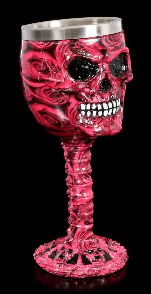 Totenkopf Kelch - Romance Skull