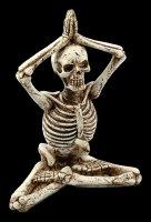 Skeleton Figurine - Lotus with Hands over Head