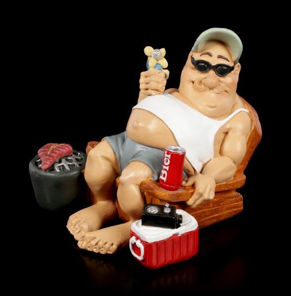 Funny Life Figur - Camper mit Grill und Bier