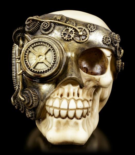 Steampunk Totenkopf - Mechanic Eye