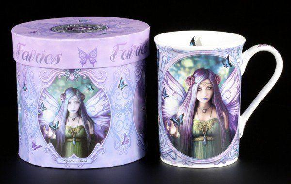 Porzellan Tasse - Magische Elfe - Mystic Aura