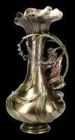 Jugendstil Vase mit Hyazinthen