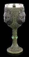Magischer Kelch mit Katze - Feline Watcher