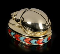 Scarab Box - gold colored