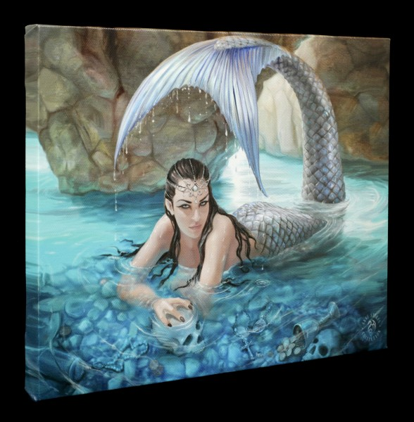 Small Canvas with Mermaid - Hidden Depths