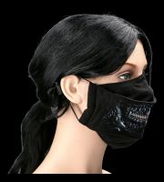 Face Mask Horror- Zipped Mouth