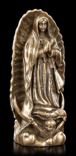 Small Maria Guadalupe Figurine - bronzed
