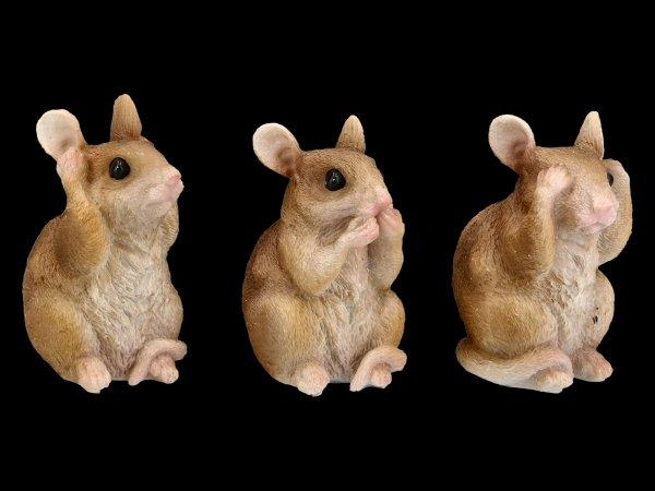 Mäuse Figuren - Nichts Böses