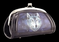 Evening Bag with 3D Picture - Wolf