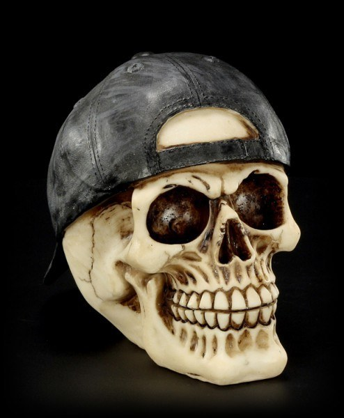 Skull - Cap pointing backwards