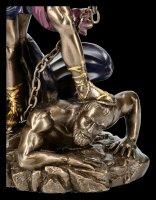 Erzengel Michael Figur - mit Schwert und Kette