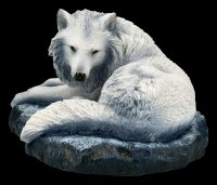 Wolf Figur - Guardian of the North by Lisa Parker